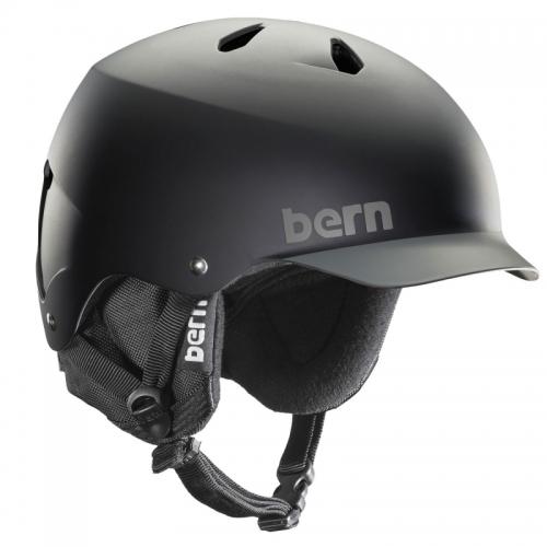 Pánská helma Bern Watts black/grey - AKCE