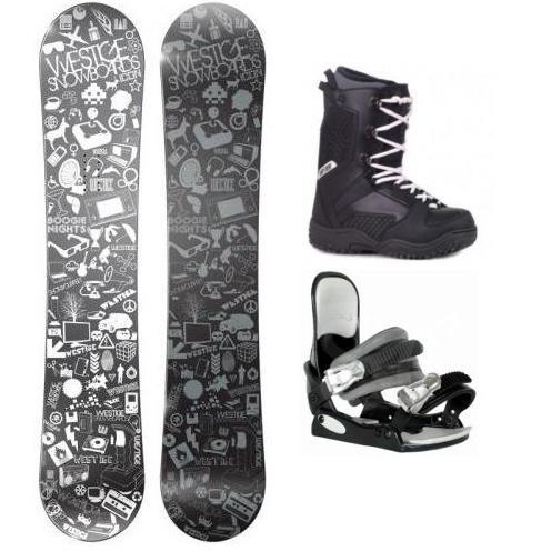 Levné snowboardové komplety, nejlevnější snowboard sety