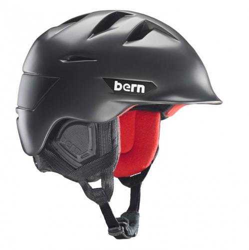 Snowboardová helma Bern Kingston satin gunmetal - AKCE