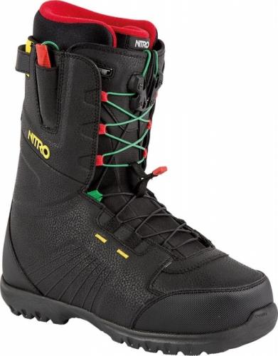 Boty na snowboard Nitro Nomad TLS irie - AKCE