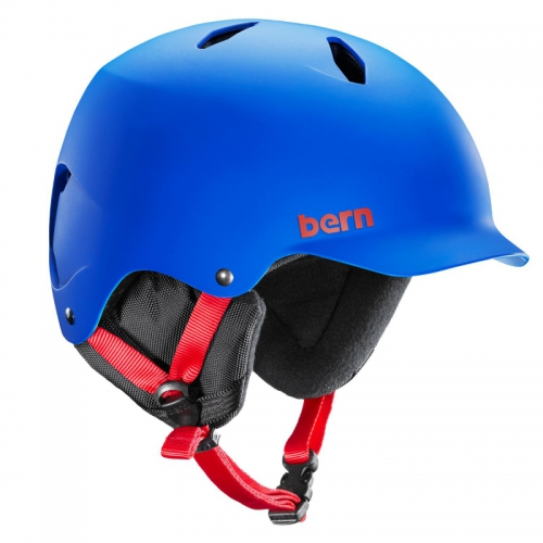 Dětská helma Bern Bandito Matte cobalt blue - AKCE