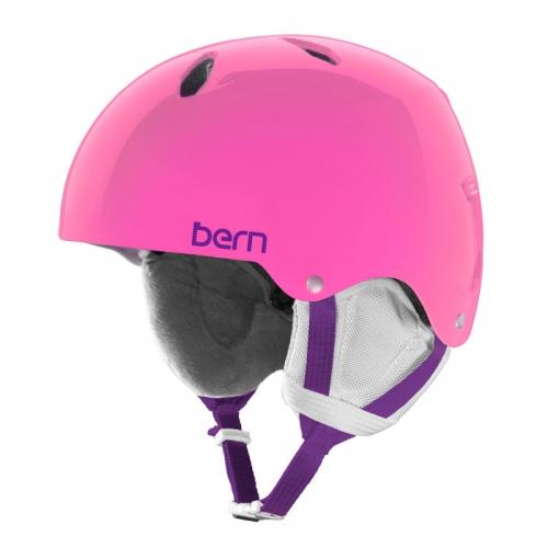 Snowboardová helma Bern Diablo translucent pink - AKCE