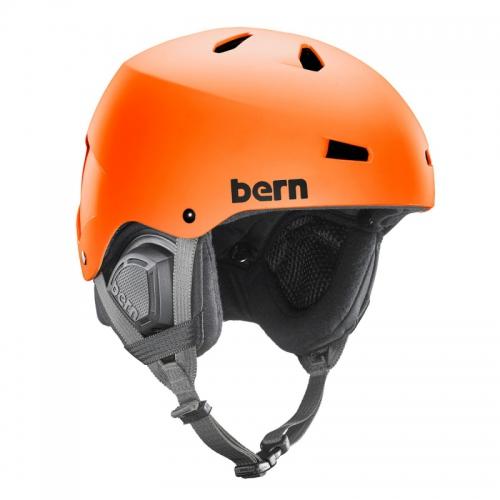 Pánská helma Bern Macon Matte orange - AKCE