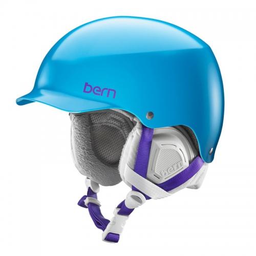 Snowboardová helma Bern Muse Satin ocean blue - AKCE