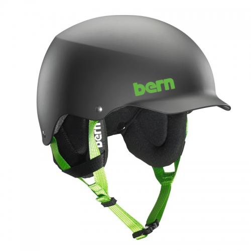 Snowboardová helma Bern Team Baker matte black - AKCE