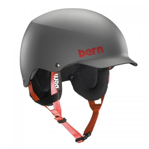 Snowboardová helma Bern Team Baker matte grey - AKCE