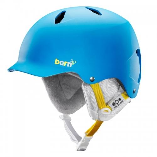 Dívčí helma Bern Bandita peacock blue - AKCE