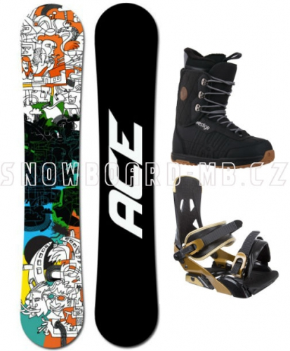 Snowboard komplet Ace Rush - AKCE