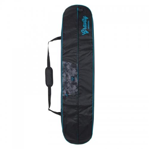 Obal na snowboard Gravity Vivid black/teal