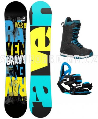 Chlapecký snowboardový komplet Raven Gravy junior - AKCE