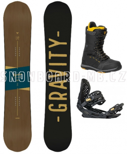 Snowboard komplet Gravity Symbol 17/18