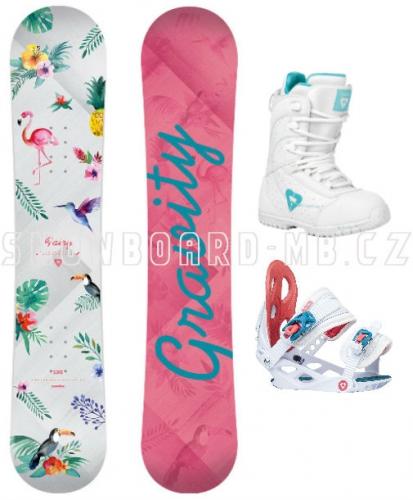 Dětský snowboard set Gravity Fairy - AKCE