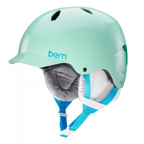 Dívčí helma Bern Bandita satin mint green