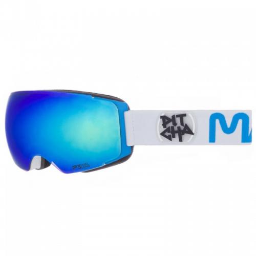 Brýle Pitcha Mango white/sky/blue mirrored