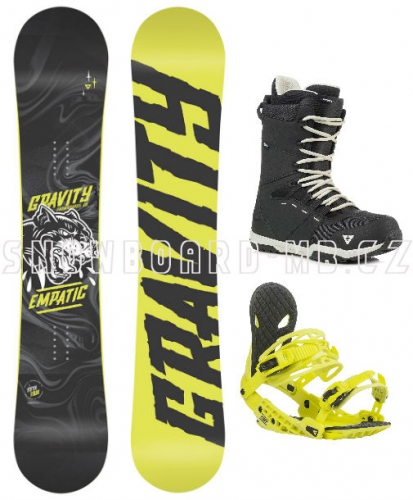 Komplet Gravity Empatic yellow