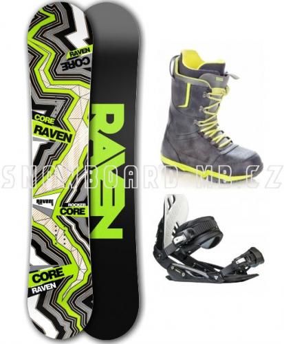 Snowboardový komplet Raven Core Carbon