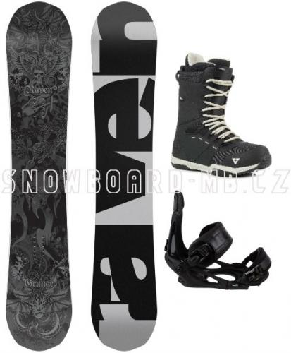 Snowboardový komplet Raven Grunge