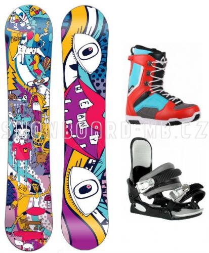 Junior snowboard komplet Beany Bark