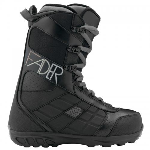Dámské snowboardové boty NITRO FADER black 11/12 - VÝPRODEJ
