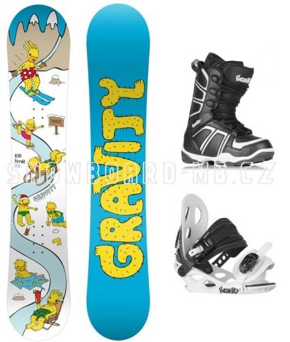 26c1ead2a8 Dětský snowboard komplet Gravity Ice Time Mini