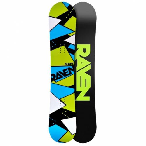 Snowboard Raven Shape black - VÝPRODEJ