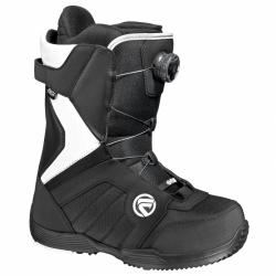 Dámské snowboardové boty Flow Vega Boa W black/white