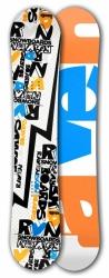 Freestyle snowboard Raven RVN white
