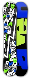 Freestyle snowboard Raven RVN black
