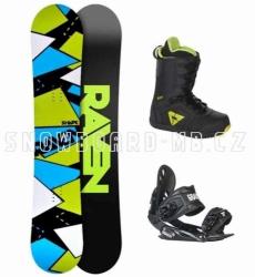Komplet snowboard Raven Shape black