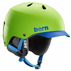 Pánská helma Bern Watts neon green/blue