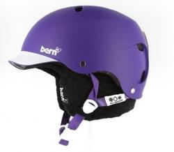 Dámská snb helma Bern Lenox matte purple