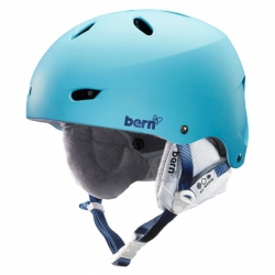 Dámská helma Bern Brighton matte bluebird
