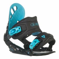 Dámské snowboard vázání Gravity G1 Lady black/černé