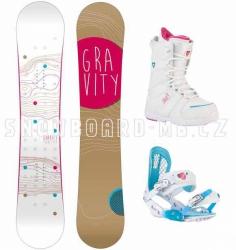 Dámský snowboard komplet Gravity Trinity 2015/2016