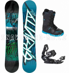 Snowboard komplet Gravity Team 2014/2015