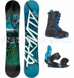 Snowboard komplet Gravity Team blue 2014/15