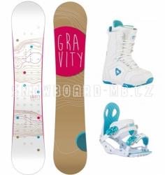 Dámský snowboard komplet Gravity Trinity 2015/16