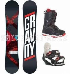 Snowboard komplet Gravity Silent 2015/2016
