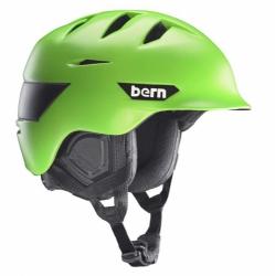 Snowboardová helma matte neon green