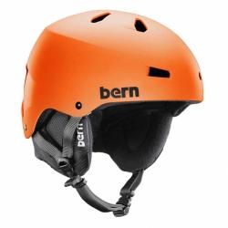 Snowboardová helma Bern Macon matte orange