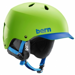 Snowboardová helma Bern Watts matte neon
