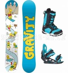 Dětský snowboard komplet Gravity Ice Time