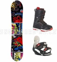 Dětský snowboard komplet Head (větší boty)