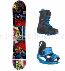 Dětský snowboard komplet Head (větší boty) Rowdy Jr Rocka