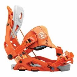 Snowboardové vázání Flow Fuse Hybrid orange