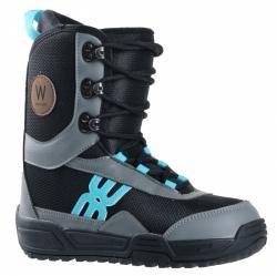 Dětské boty Westige Bufo black/gray/blue