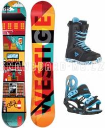 Snowboardový komplet Westige Flat Kid