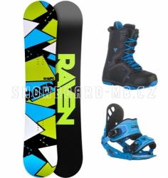 Snowboard komplet Raven Shape black/blue