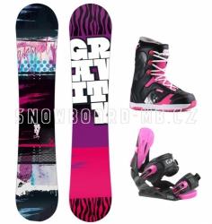 Dívčí snowboardový komplet Gravity Fairy