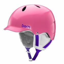 Snowboardová helma Bern Bandita Satin pink